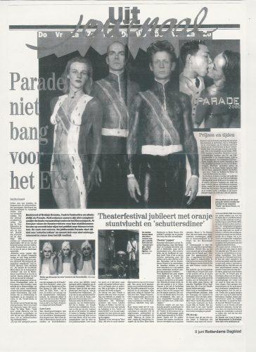 Mobile Arts in Rotterdams Dagblad