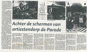 Mobile Arts in Algemeen Dagblad